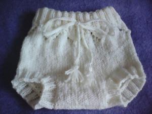 Вязаные трусики-шортики для малыша. Ярмарка Мастеров - ручная работа, handmade.