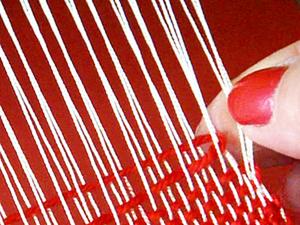 Как избежать боковых протяжек на тканом полотне. Ярмарка Мастеров - ручная работа, handmade.