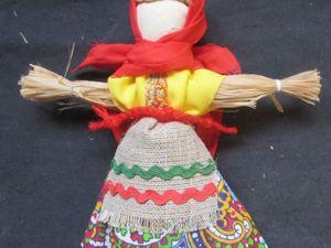 Мастерим куклу-масленицу. Ярмарка Мастеров - ручная работа, handmade.