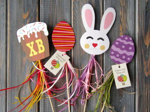 Making Easter Toppers with Kids. Livemaster - handmade