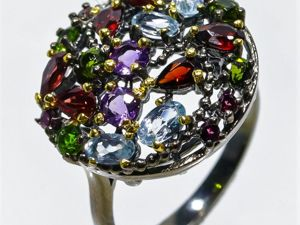 Видеоролик: Авторское кольцо с натуральными камнями  «Колдовское озеро». Ярмарка Мастеров - ручная работа, handmade.