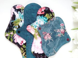 Про впитываемость многоразовой прокладки. Ярмарка Мастеров - ручная работа, handmade.