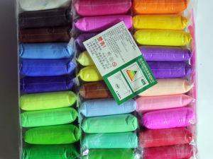 Новые наборы бархатного пластика 36 и 24 цветов!. Ярмарка Мастеров - ручная работа, handmade.
