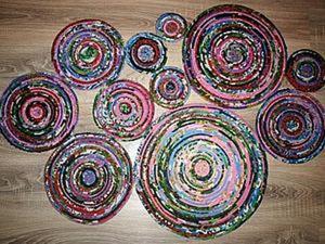 Шьем деревенский коврик. Ярмарка Мастеров - ручная работа, handmade.