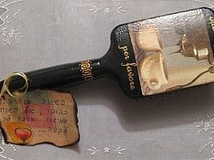 Декорируем расческу в технике декупаж. Ярмарка Мастеров - ручная работа, handmade.