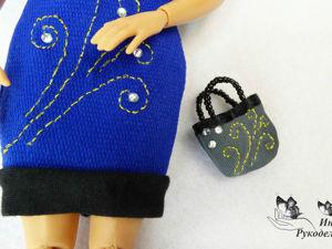 Как сшить классическую сумку для куклы — видеоурок. Ярмарка Мастеров - ручная работа, handmade.
