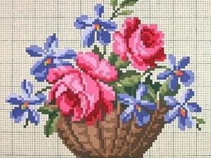 Схемы для вышивки крестом и для ткачества. Ярмарка Мастеров - ручная работа, handmade.