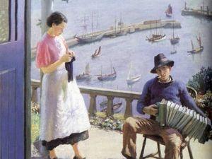Творчество английского живописца Harold Harvey. Ярмарка Мастеров - ручная работа, handmade.