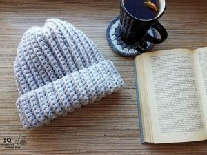 Теплая шапка. Ярмарка Мастеров - ручная работа, handmade.