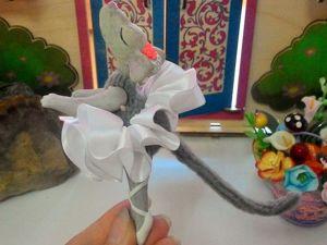 Лепим мышь из полимерной глины. Часть 2. Ярмарка Мастеров - ручная работа, handmade.