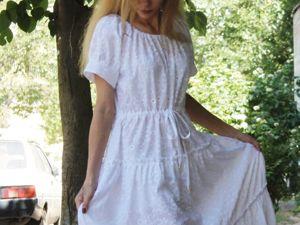 Платье  «Роскошь лета». Ярмарка Мастеров - ручная работа, handmade.