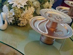 Как сделать необычную подставку для драгоценностей. Ярмарка Мастеров - ручная работа, handmade.