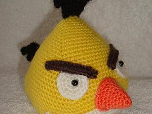 Вяжем птичку из игры Angry Birds. Ярмарка Мастеров - ручная работа, handmade.
