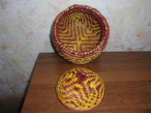Плетеная шкатулка с орнаментом: видео мастер-класс. Часть 2. Ярмарка Мастеров - ручная работа, handmade.