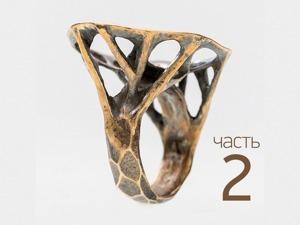 Изготовление кольца «Жираф» из бронзовой глины. Часть 2: шинка кольца. Ярмарка Мастеров - ручная работа, handmade.