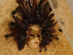 Изготовление венецианской маски с перьями.Техника папье-маше.. Ярмарка Мастеров - ручная работа, handmade.