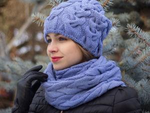 Комплекты шапочка и снуд- по приятным ценам)). Ярмарка Мастеров - ручная работа, handmade.