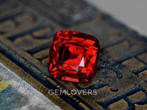 Красный камень шпинель. Ярмарка Мастеров - ручная работа, handmade.