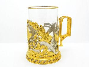 Подарочный литой подстаканник  «Птицы» . Златоуст z730. Ярмарка Мастеров - ручная работа, handmade.