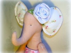 Шьем тильда-слоника: мастер-класс для начинающих. Часть 2. Ярмарка Мастеров - ручная работа, handmade.