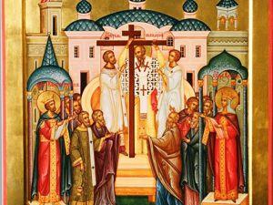 С праздником Воздвижение креста Господня. Ярмарка Мастеров - ручная работа, handmade.