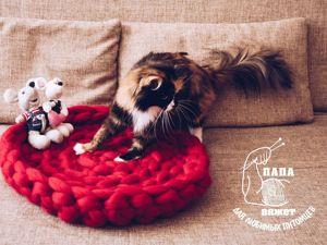 Трехцветная кошка-счастье в дом. Ярмарка Мастеров - ручная работа, handmade.