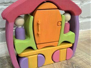 Как сделать холодильник и мойку для кукольного домика. Ярмарка Мастеров - ручная работа, handmade.