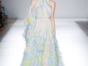 Платье из коллекции Ralph&Russo Spring/Summer 2020. Ярмарка Мастеров - ручная работа, handmade.