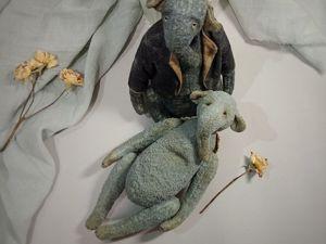 Слонята ищут дом. Ярмарка Мастеров - ручная работа, handmade.