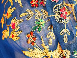 Главное украшение 1940-х годов - вышивка. Ярмарка Мастеров - ручная работа, handmade.