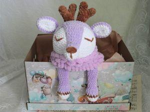 Новенькая Оленюшка-пижамница. Ярмарка Мастеров - ручная работа, handmade.