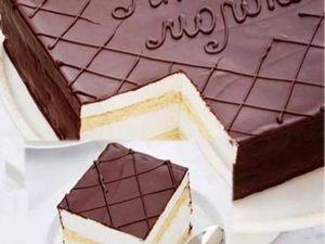 Торт «Птичье молоко» по ГОСТУ. Что-то близкое к настоящему. Ярмарка Мастеров - ручная работа, handmade.