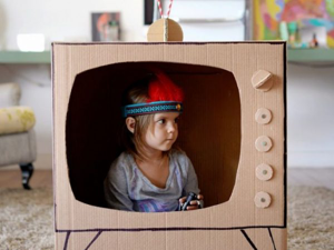 Multifunctional Toy: 30 Ways to Use Cardboard Box with Kid. Livemaster - handmade