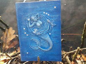 Обзор блокнота  «Русалочка». Ярмарка Мастеров - ручная работа, handmade.
