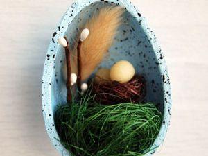 Мастерим милый пасхальный сувенир-магнит. Ярмарка Мастеров - ручная работа, handmade.