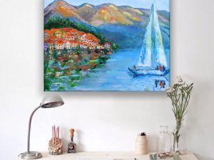 Новая картина!! Морской пейзаж. Ярмарка Мастеров - ручная работа, handmade.