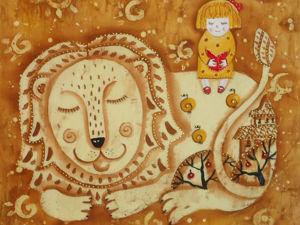 Сказка для Льва. Ярмарка Мастеров - ручная работа, handmade.