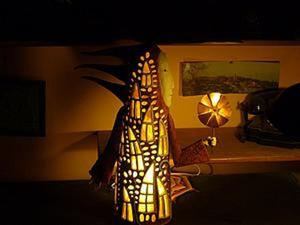 Мастер-класс: делаем керамический светильник «Человеко-дом». Часть 1. Ярмарка Мастеров - ручная работа, handmade.