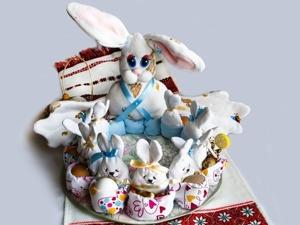 Создаем корзинку «Пасхальное семейство». Ярмарка Мастеров - ручная работа, handmade.