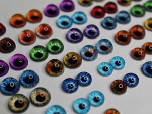 Как сделать живые глаза для игрушек без пузырей. Ярмарка Мастеров - ручная работа, handmade.