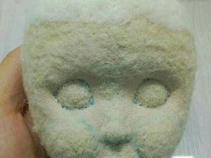 Как сделать объемный нос текстильной кукле. Ярмарка Мастеров - ручная работа, handmade.