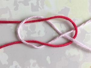 Как незаметно соединить нити: ткацкий узел. Ярмарка Мастеров - ручная работа, handmade.