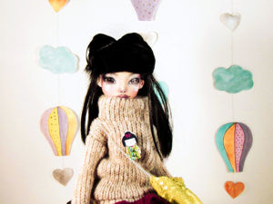 Новая кукла в магазине. В наличии прямо сейчас. Софо, с тремя комплектами одежды. Ярмарка Мастеров - ручная работа, handmade.