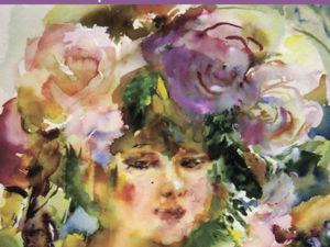 Выставка  «Поющие цветы»  О.Л.Неслуховской. Ярмарка Мастеров - ручная работа, handmade.