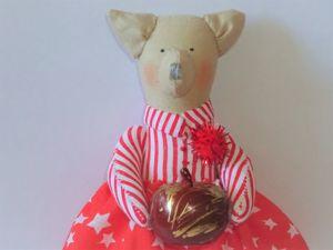 Шьем новогоднее украшение на елку своими руками. Ярмарка Мастеров - ручная работа, handmade.