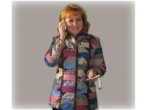 """Мастер-класс: Лоскутный жакет-куртка """"Изабелла"""". Часть 2. Утеплительно-карманная. Ярмарка Мастеров - ручная работа, handmade."""