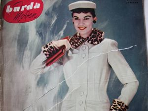 Burda moden  1/1955 Бурда Моден. Ярмарка Мастеров - ручная работа, handmade.