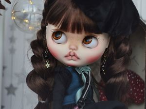 Estelle. New Girl. Custom Blythe. Ярмарка Мастеров - ручная работа, handmade.