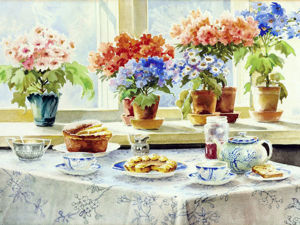 Touching Watercolours by Russian Grand Duchess Olga Romanova. Livemaster - handmade