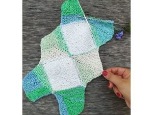 Вяжем необычный шарф спицами: видеоурок. Ярмарка Мастеров - ручная работа, handmade.